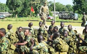 Image of a group of Nigerian army