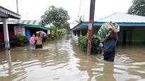 Image on flooding in Indonesia