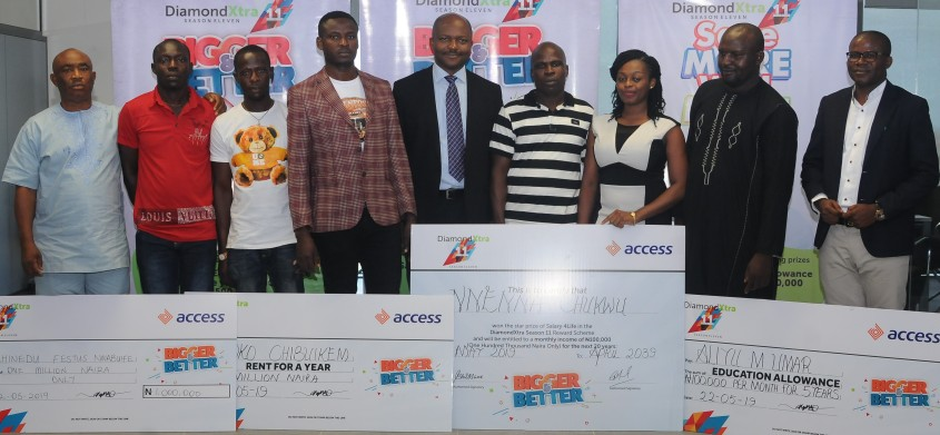 Image of Access bank's DiamondXtra winners