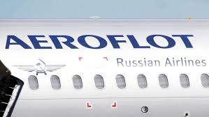Picture of an Aeroflot plane