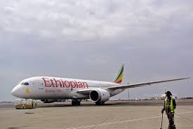 Image of an Ethiopian Airline Plane