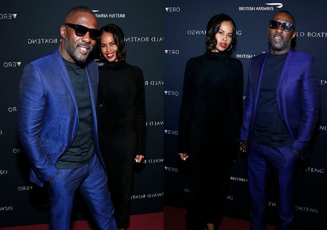 Picture of Idris Elba and Sabrina Dhowre