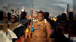Image of the King of Swaziland