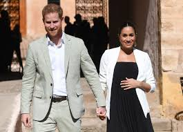 Picture of Prince Harry and Meghan Markle