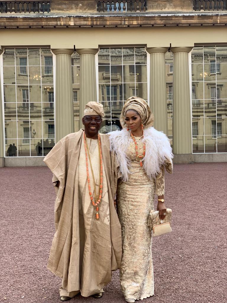 Image of Okoya Thomas and wife