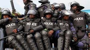 Picture of Nigerian police men