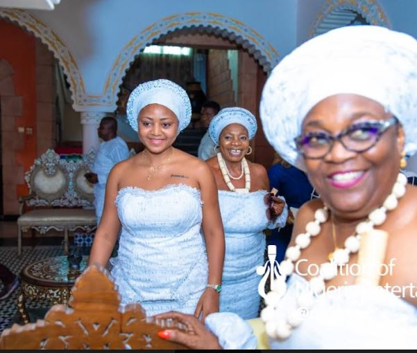 Regina Daniels's traditional wedding ceremony