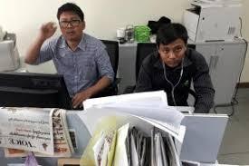 Picture of Wa Lone and Kyaw Soe Oo