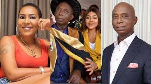 Image of Shan George, Ned Nwoko and Regina Daniels
