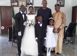 Picture of Mr. and Mrs. Adegor