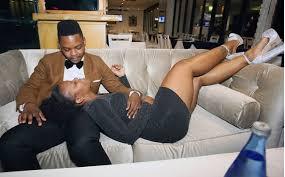 Image of Zodwa Wabantu and her fiance
