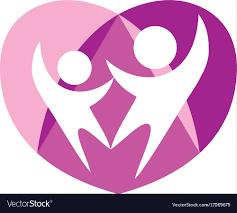 Couple emblem