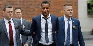 Image of Cuba Gooding Jr. arrest by NYPD for groping.