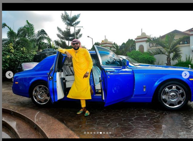 Image of E-Money and his latest Rolls Royce