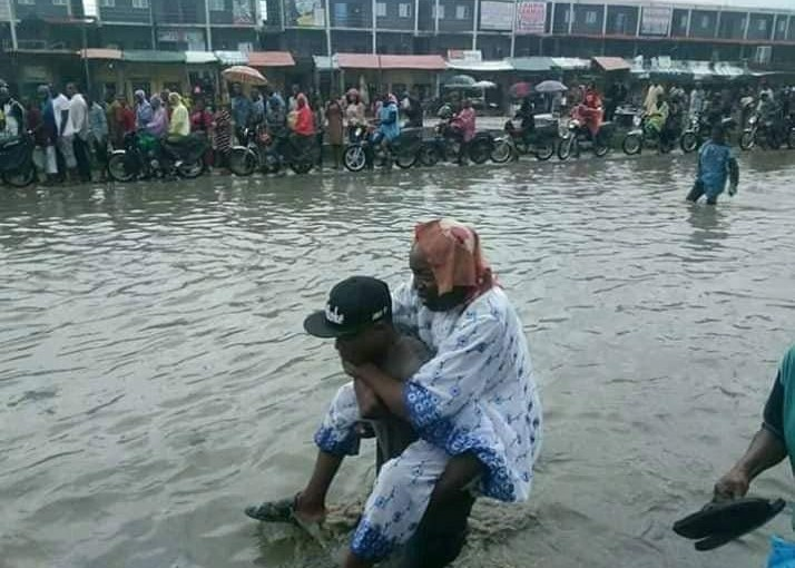 Image of flooding at Trade Fair Complex