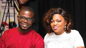 Picture of Funke Akindele and JJC Skillz