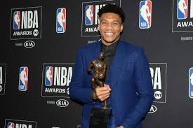 Giannis Antetokounmpo NBA's Most Valuable Player for 2019.