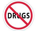 Hard drug emblem