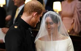Prince Harry and Meghan Markle's wedding photos.