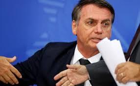 Image of Jair Bolsonaro.