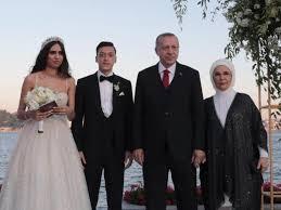 Mesut Ozil's wedding picture.