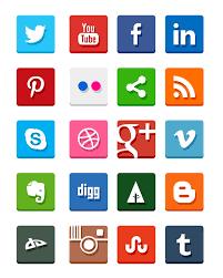Social media emblem