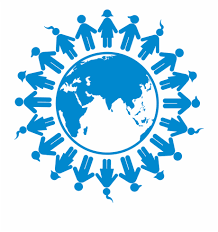 World population emblem
