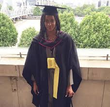 Fred and Agatha Amata's daughter graduates from a UK university.