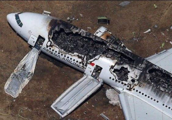 Plane that crashed in Texas, killing 10 people.