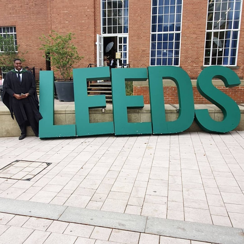 Dele Momodu's son graduates from the University of Leeds, UK.