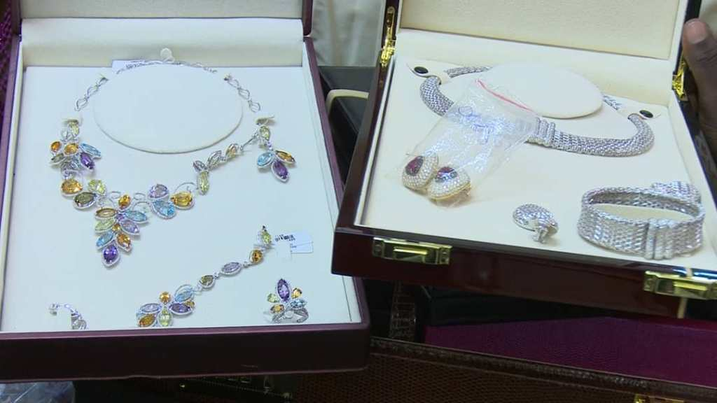 Recovered Diezani's jewelry