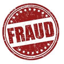 Fraud emblem.
