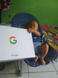 Google sends gifts to Indonesian couple who named their child 'Google'.