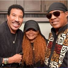 Latest photo of Janet Jackson, Stevie Wonder and Lionel Richie.
