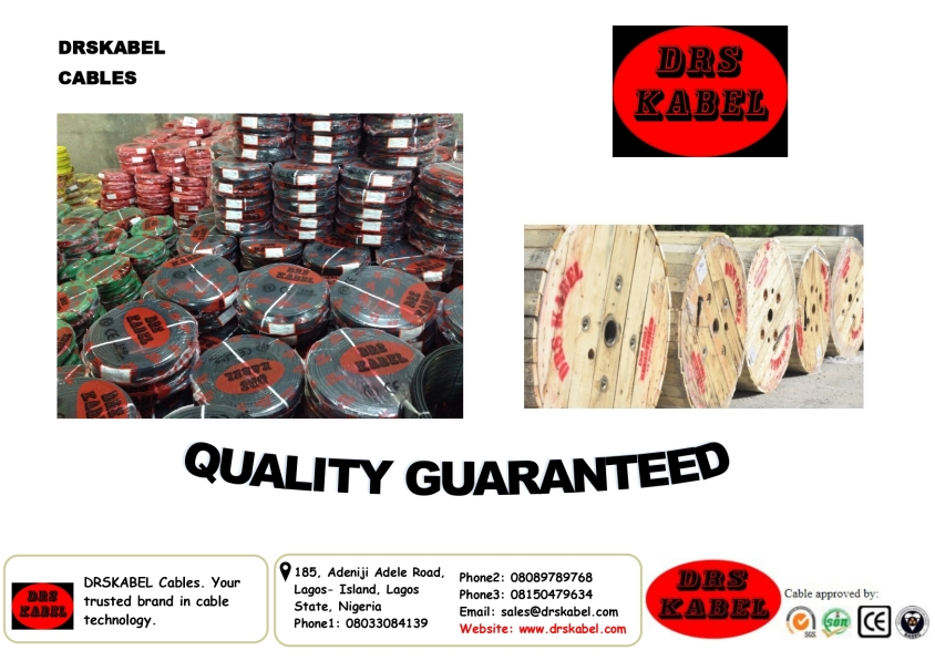 For your quality armoured cables and other types of cables.