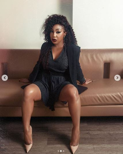 Rita Dominic shares new stunning photos on her 44th birthday.