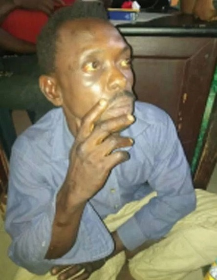Tenant strangles his landlord to death, throwing his body into a septic tank.