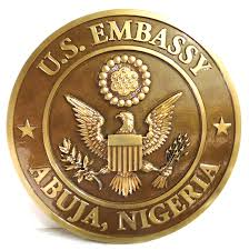 U.S Embassy, Abuja Emblem.