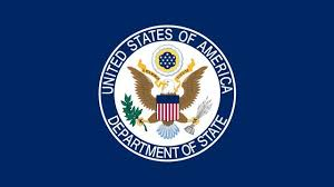 U.S State Department emblem.