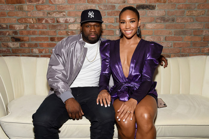 50 Cent and girlfriend, Jamira Haines