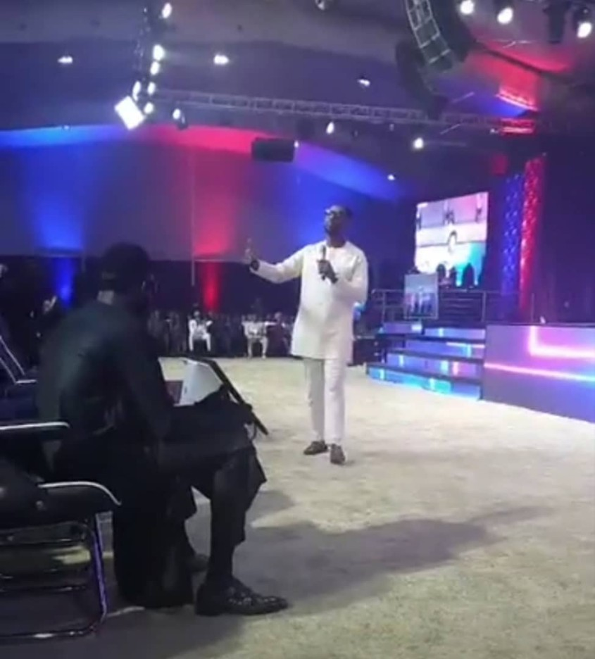 Pastor Biodun Fatoyinbo back on the pulpit