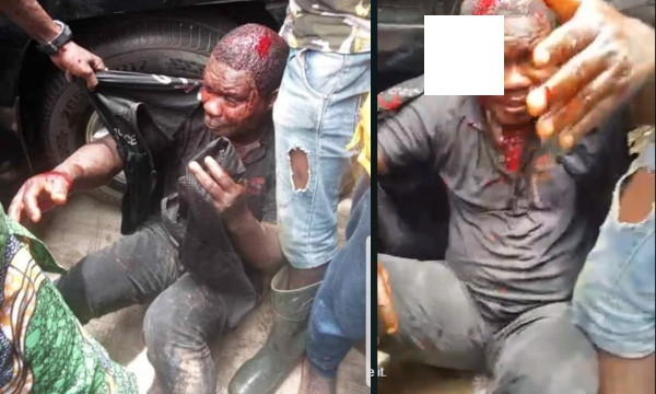 Policeman killed by mob for shooting a pregnant woman in Ijegun, Lagos State