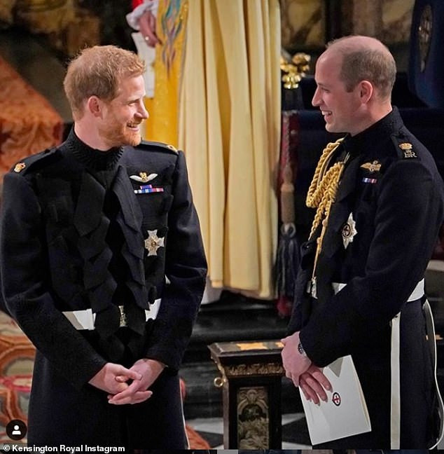Prince Harry and Prince Williams