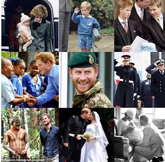 Prince Harry's photos