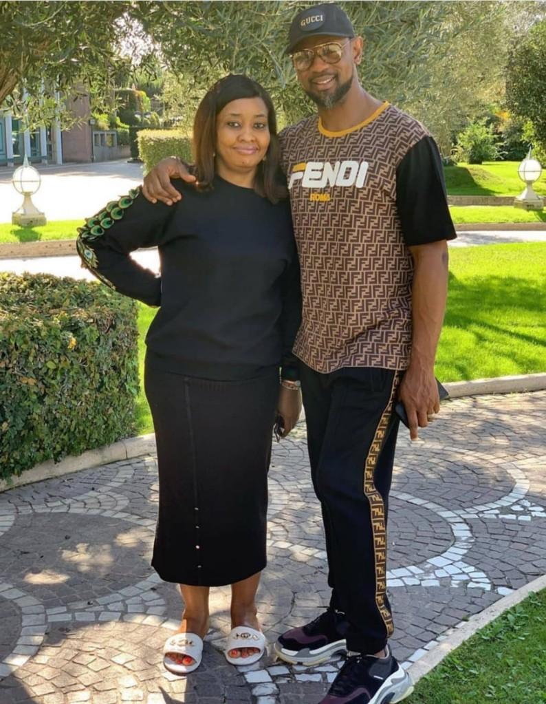 Biodun Fatoyinbo and wife, Modele