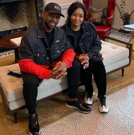 Biodun Fatoyinbo and wife