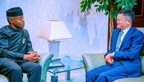 Jack Ma visits Nigeria