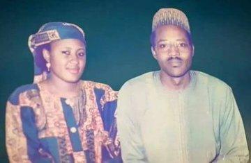 President Buhari and Aisha Buhari