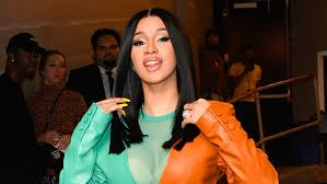 American rapper, Cardi B arrives Nigeria for a show (see photos)