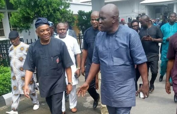 Orji Uzor Kalu sentnced to 12 years imprisonment for N7.1 bn fraud.